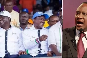 NASA announces GRAND plan moments after Raila tore apart Uhuru's address