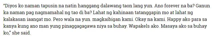 'Tanggap ko naman kung ano siya' Kakai Bautista's statement involving Aaron Villena sparked intrigues