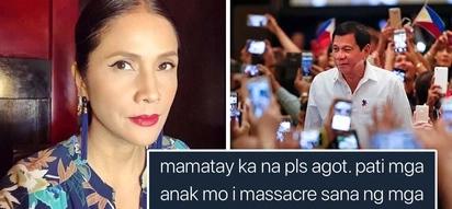 Bring it on! Agot Isidro lalong lumalakas, di natitinag sa banta ng DDS bashers sa buhay niya at mga anak niya