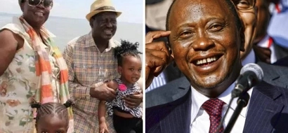 Raila's sister tells of UNEXPECTED childhood relationship with Uhuru