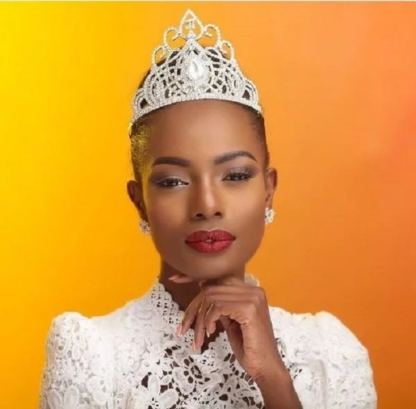Miss Kenya was asked about Donald Trump,she FUMBLED badly and lost now everyone is mad