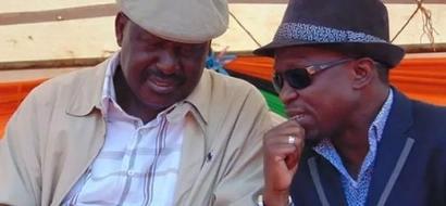 Ababu amjibu Raila Odinga baada ya kuondolewa ODM