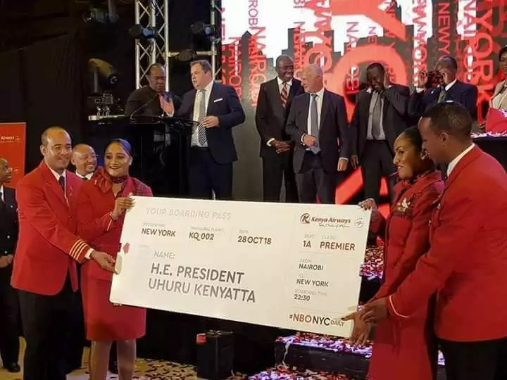 Kenya Airways value rises by Sh10bn since flights to America were announced