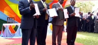 Ondoeni Raila katika muungano wa NASA mara moja, Kalonzo na Musalia waambiwa