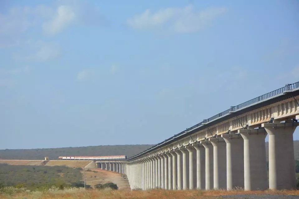 Kenyan Railways forced to respond after claims that SGR Voi bridge has cracked