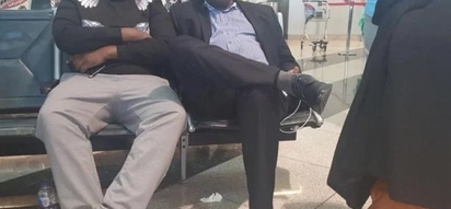 Government speaks following standoff at JKIA after Miguna's arrival