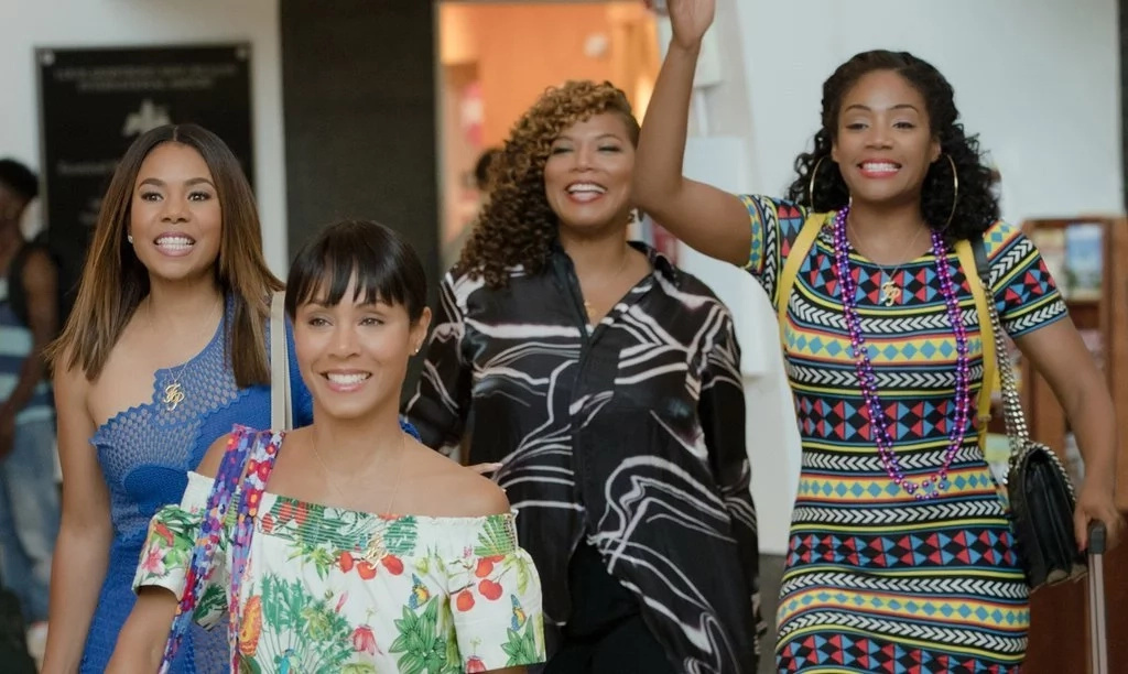 Regina Hall, Jada Pinkett-Smith, Queen Latifah and Tiffany Haddish. Photo: Because of Them We Can