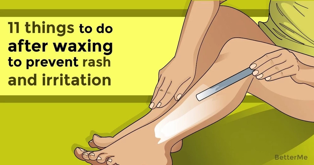 11 things to do after waxing to prevent rash and irritation