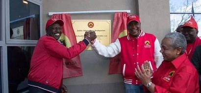 Meet the young man who helped Uhuru SURPRISE Kenyans at Jubilee event