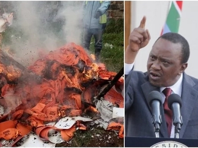 3 people rescued by police as Kisumu youth burn Jubilee office over ID buying claims