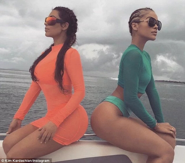 Kim Kardashian twerking on camera in Mexico in hot new video!