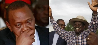 Raila returns to Homa Bay and 'destroys' everything Uhuru did days ago