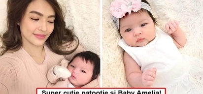 Baby pa lang artistahin na! Say hello to Bangs Garcia's totally adorable baby daughter Amelia - her eyes can soften the hardest of hearts