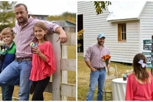 Caring dad shows his daughter how good men treat the women in their lives (photos)