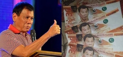 This 30 peso bill featuring President Duterte's face is sure to become a collectible!