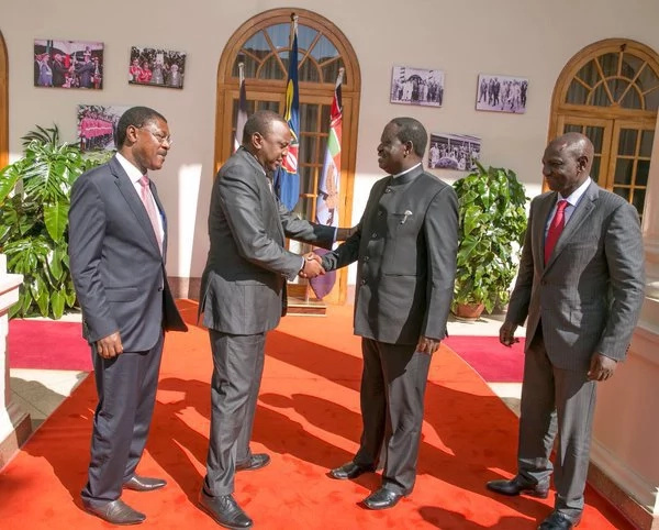 Why Uhuru met Raila at State House - report