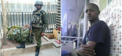 Irony of police officers being caught in robbery incidences in under three days