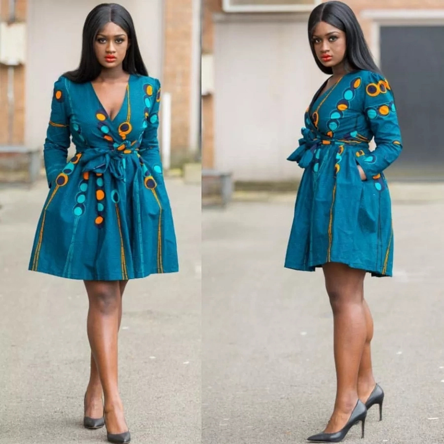 African Fashion 2018 Trendy Ankara Dresses And Ankara Styles