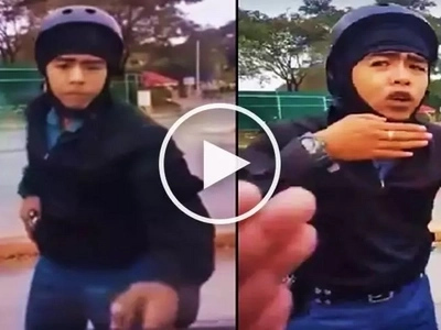 Sino ang mali? Intense confrontation between car driver and policeman on motorbike divides netizens