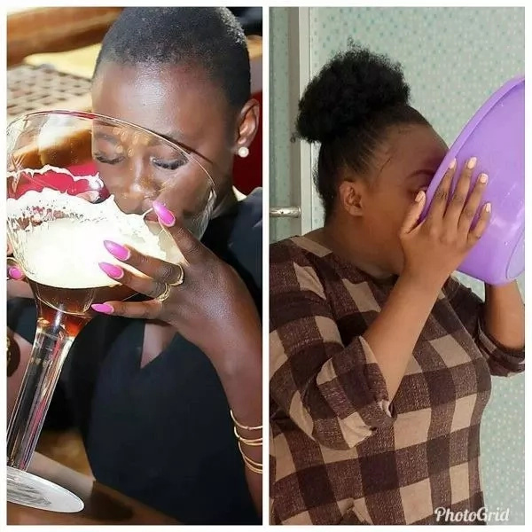 Kenyans attempting the Akothee challenge is simply the funniest thing you will see on the internet