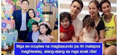 5 Pinay celebrity moms na maganda ang relasyon sa tatay ng mga anak nila kahit hiwalay na sila
