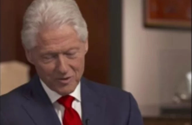 Did Bill Clinton Touch This Woman In A Secluded Editing Room? Oh