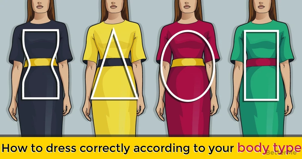 How to dress correctly according to your body type