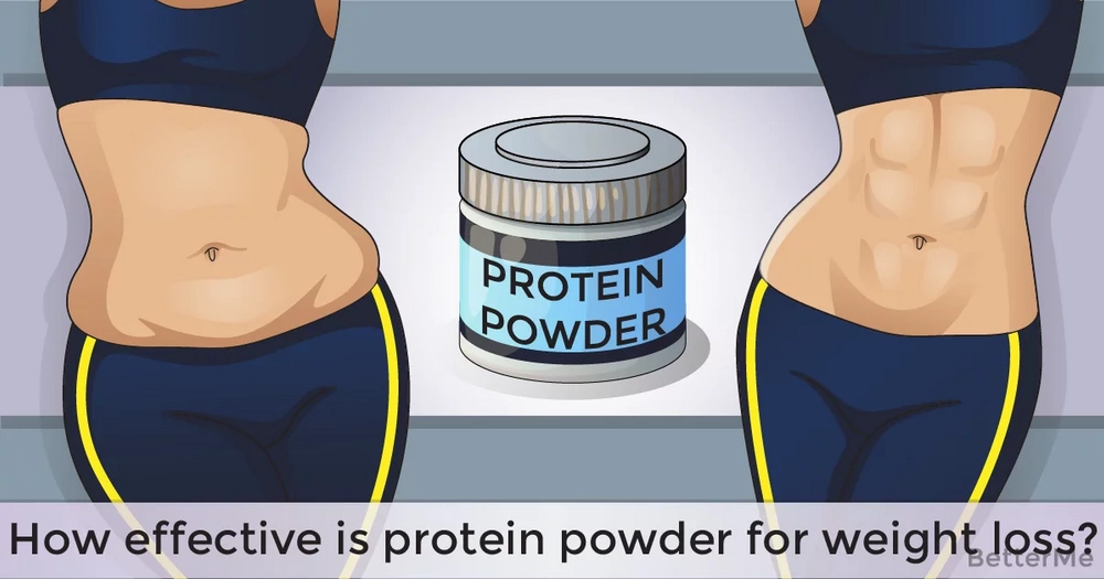 How effective is protein powder for weight loss?