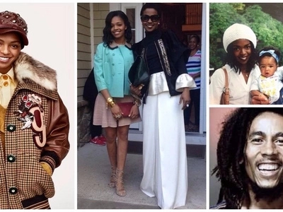 What if your mom is Lauryn Hill and your grandfather is Bob Marley? Let's find out from Selah Marley.