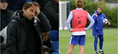 Crisis looms at Stamford Bridge as Conte clashes with unhappy players during training