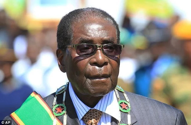 World Health Organization cancels Robert Mugabe ambassador role