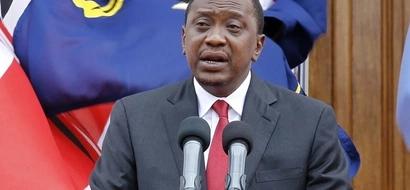 President Uhuru Kenyatta calls his State House guests thieves (photos, video)