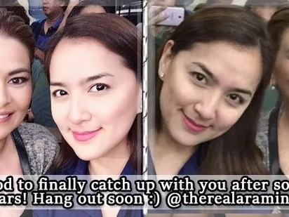 Ara Mina, Aiko Melendez kiss and make-up after longtime rift