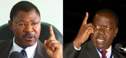 Moses Wetangula dares Matiangi to arrest MCA's who ejected newly posted Kamusinga principal