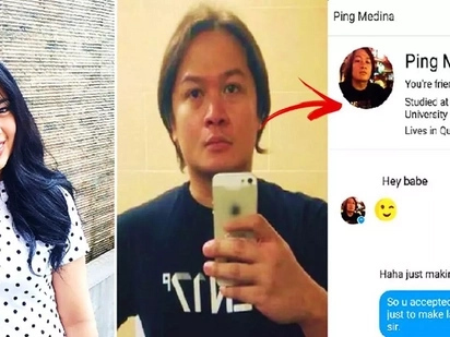 This Pinay netizen humiliated actor Ping Medina by posting his Hokage messages on FB Messenger! Their conversation will shock you!