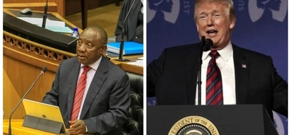 Presidents Trump and Ramaphosa in a standoff predicted to worsen going forward