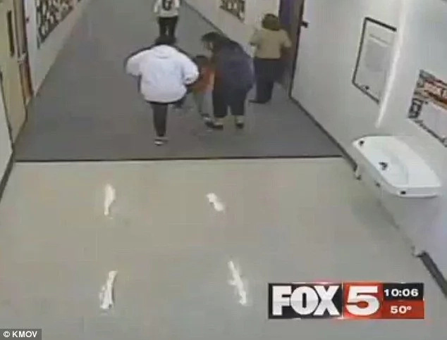 Cruel! School counselor KICKS 7-year-old special-needs student (photos, video)