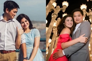 Dating schoolmates, ngayon soulmates! Camille Prats and VJ Yambao take over sunny California for prenup photo shoot