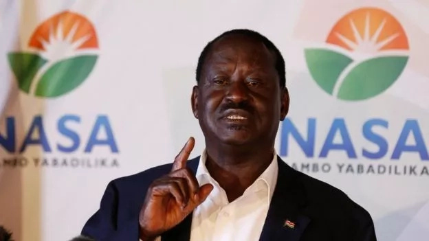 10 Things that Raila Odinga noted in his press statement