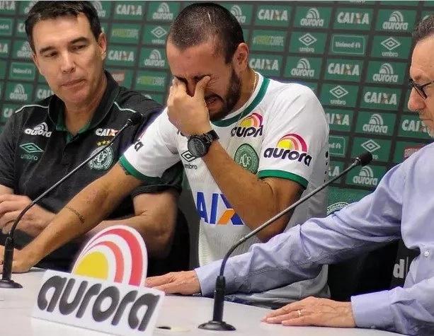 Jugador del Chapecoense revela el cambio de asiento que le salvó la vida