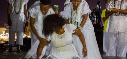 Woman, 34, SACRIFICED to God during stormy ceremony now feared dead (photos, video)