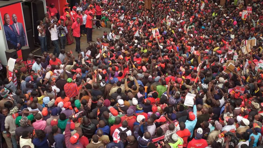 Ruto heckled in Jubilee stronghold!