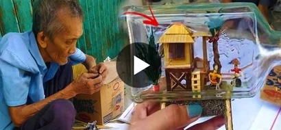 This old man's amazing artistic skill made him viral; find out what it is