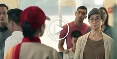Pinoys' favorite fast food chain joins in the battle of #HugotCommercials