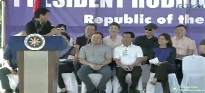 Duterte openly admits finding VP Leni a beautiful woman