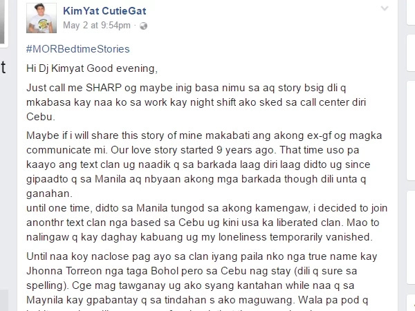 Man shares story to contact ex-girlfriend who is the mother of his child. He wants to see his child but how?