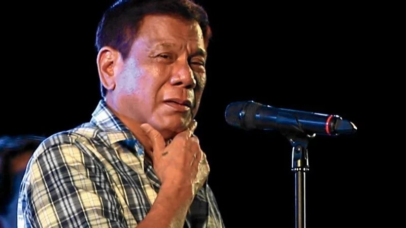 Duterte says he'll not quarrel with US after Trump's victory