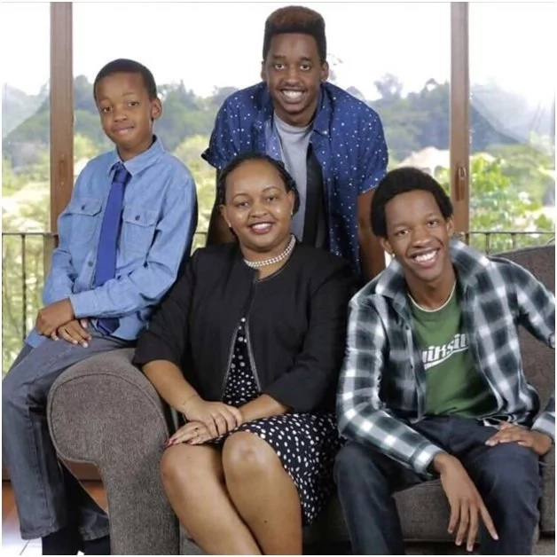 Anne Waiguru family