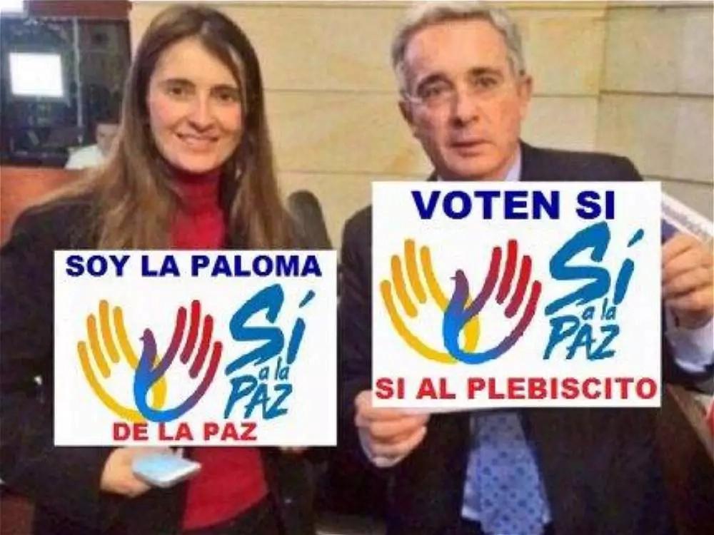 Guerra sucia en las redes sociales colombianas, frente al plebiscito por la paz