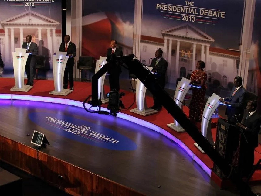 NASA hits out at Jubilee over the 2017 Presidential debate fail